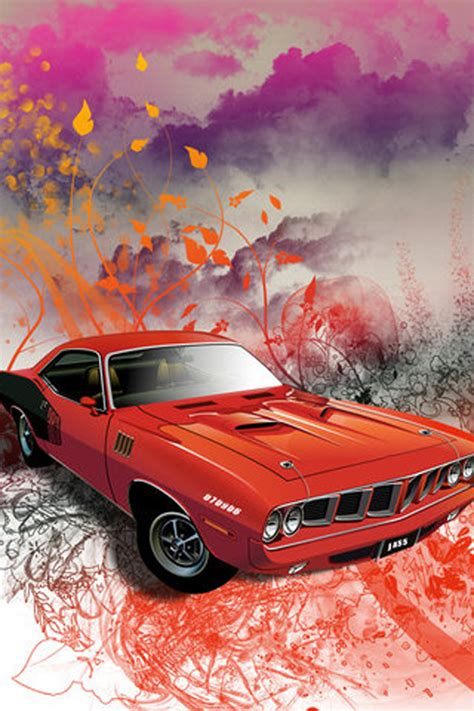 muscle car iphone wallpaper hd