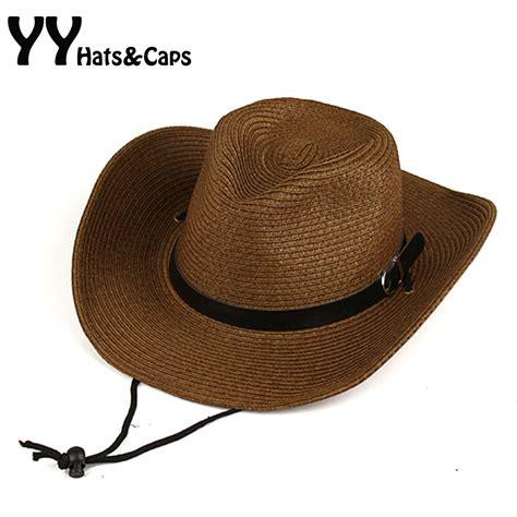 western straw cowboy hats for men cowboy hat 2015 summer western popular brand sunscreen