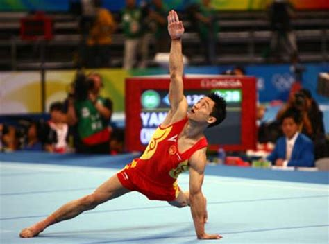 yang wei top favorite for s all around title sports