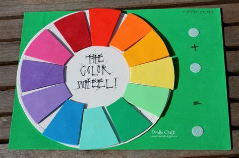 fun colors doodlecraft fun foam color wheel teaching aid