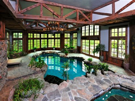 Most Popular Home Design Blogs by Amazing Indoor Pool Brooke Shields Sells Real Housewife
