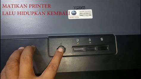 cara reset epson l1300 cara reset printer epson l1300 youtube