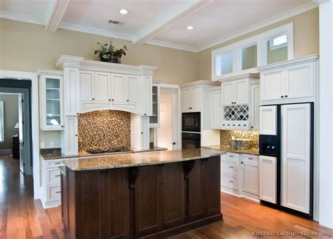 White kitchen cabinets with dark wood floors best design for your