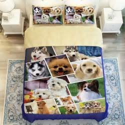 King Size Bed Pet Covers 3d Animals Huskies Beagles Pug Print