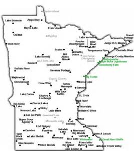 Minnesota State Park Map by Minnesota State Parks Map Car Interior Design