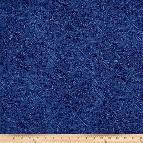 quilt fabric 108 quot wide quilt back chelsea dot paisley navy discount