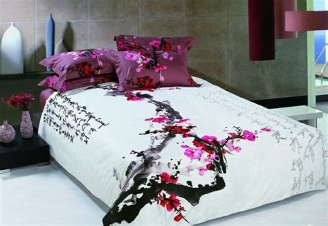 japanese pattern bedding oriental bedroom design like in the fairy tale living