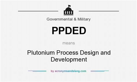 definition design and development what does ppded mean definition of ppded ppded stands