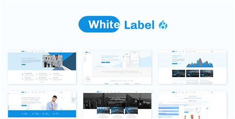 White Label Clean Template For Modern Web Businesses By Drupalet White Label Website Templates