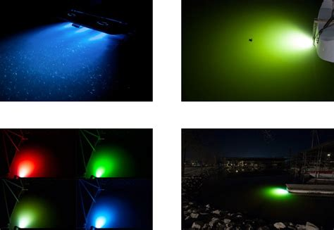 underwater lights for boat docks led underwater lights colorful illumination for boats and
