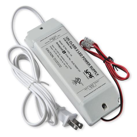 led light power supply 60 watt standard 12 volt dc led power supply armacost