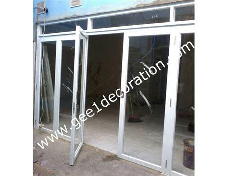 Pintu Lipat Aluminium 1 pintu lipat aluminium kaca buy aluminium dan kaca product on alibaba