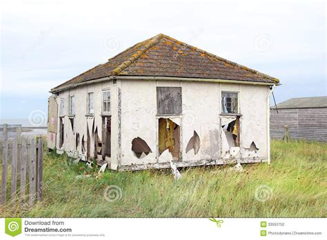 home photo wrecked ruined bungalow home stock photo image 33552752