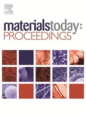 materials and design journal elsevier materials today proceedings