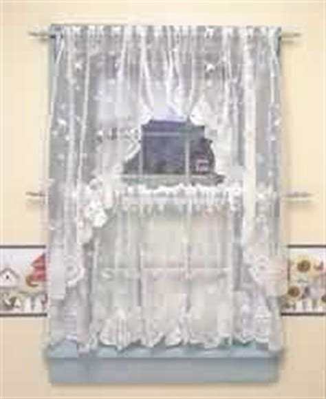 white lace swag curtains com curtains white polyester lace swag window