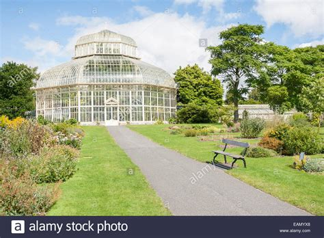 botanic gardens dublin dublin ireland aug 14 greenhouse in the national