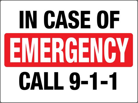 Stick On Jaf Emergency Call in of emergency call 911 phs safety