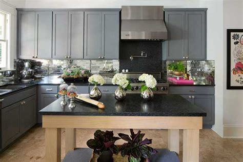 Black Hair Kitchen Grey S Anatomy Countertop Ideas For Gray Kitchen Cabinets