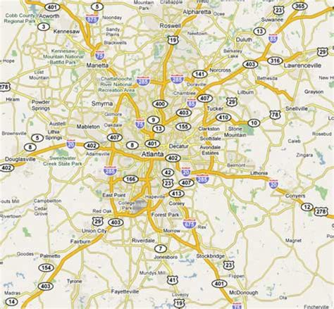 map of atlanta ga atlanta ga pm2 5 nonattainment area map see detailed description images frompo
