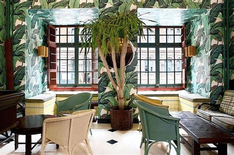 banana leaf wallpaper beverly hills hotel island idyll wallpaper was born at the beverly hills