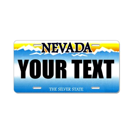front license plate nevada autos post