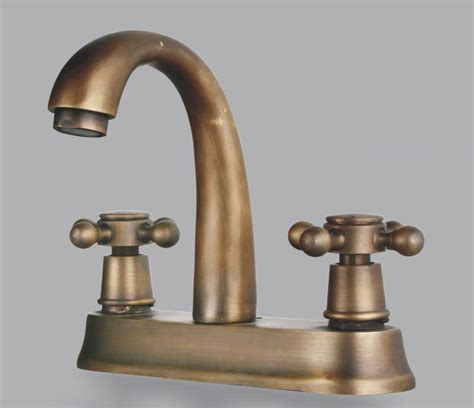 antique brass faucet bathroom two handles antique brass centerset bathroom sink faucet