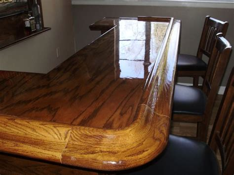 how to epoxy a bar top 13 best images about home bar ideas on pinterest