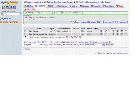 mysql format date varchar conversion varchar en datetime