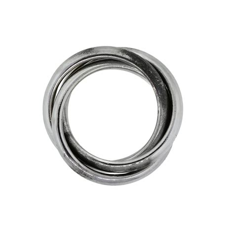 co sterling silver three rolling rings boca raton