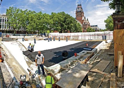 beyond harvard all new street 1781256993 summer harvard construction fogg art museum tata hall quincy house harvard magazine