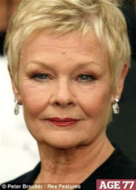 show back of judy dench hairstyle judi dench isn t she just lovely famous women