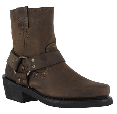 harley riding boots sale harley davidson el paso womens brown cuban heel zip up