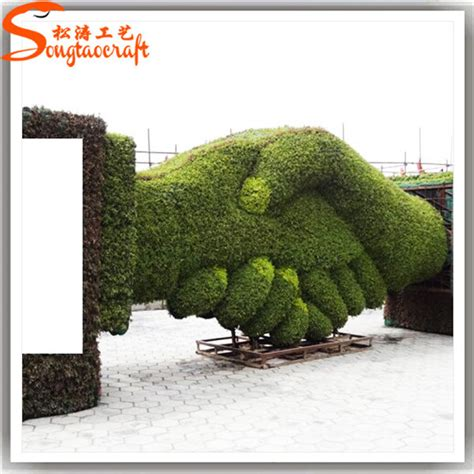cheap topiaries wholesale new style artificial garden topiary animals with