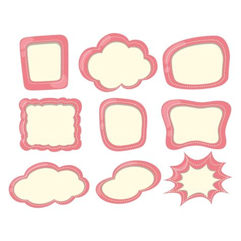 clipart collection free abstract frames collection vector free