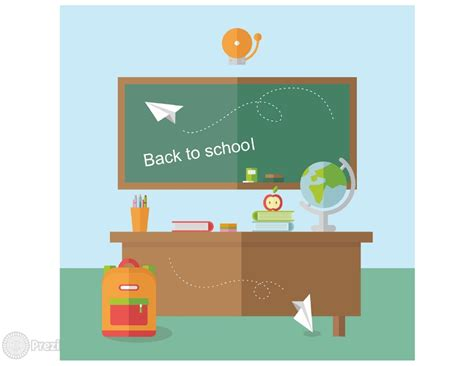 school desk prezi premium templates