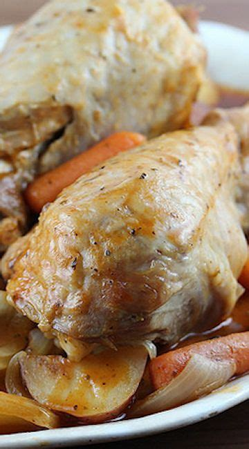 cooker recipes for turkey legs one dish cooker turkey legs supper recipe
