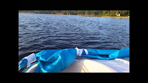 sun dolphin pedal boat reviews sun dolphin pedal boat review youtube