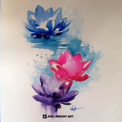 Watercolour Lotus 25 Best Ideas About Watercolor Lotus On