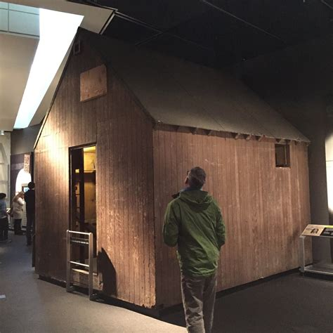 Unabomber Cabin by Museum 4 12 The Newseum Cole Imperi