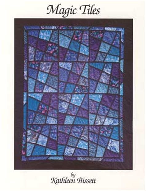 Magic Tiles Quilt Pattern by Patterns By Bissett 169