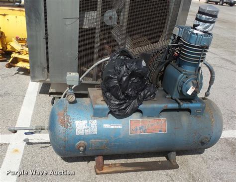 kellogg american air compressor item bv9795 sold octobe
