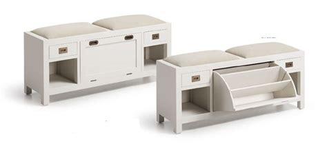 banco zapatero vestidor banco zapatero colonial new white mueble auxiliar