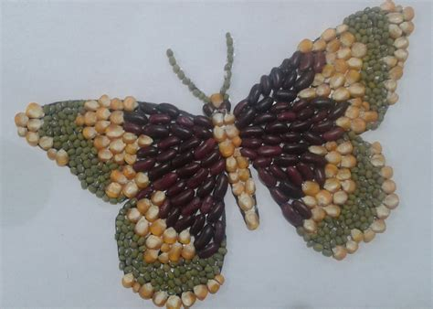 membuat kolase burung dari biji bijian sd bintang bontang yuk belajar membuat mozaik