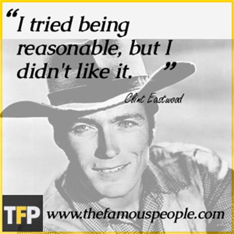how to be reasonable by someone who tried everything else books clint eastwood biography childhood achievements
