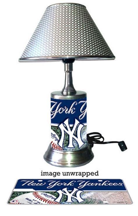 L Shade Nyc by New York Yankees L With Chrome Shade Ebay