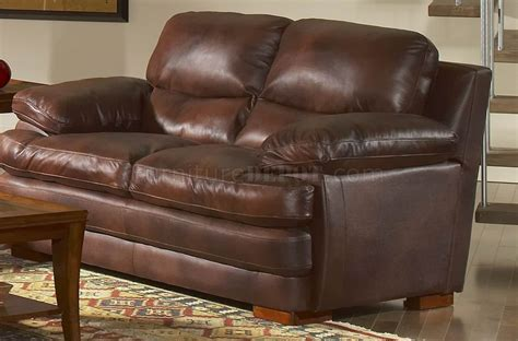 baron sectional living room set 1 ottoman furnituredfo com leather italia classic brown baron sofa loveseat set w