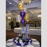 Quinceanera Balloon Centerpieces | 375 x 500 jpeg 43kB