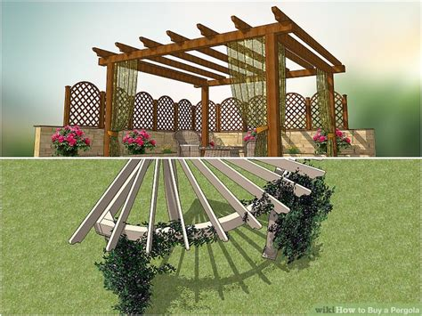 How To Buy A Pergola With Pictures Wikihow Buy A Pergola