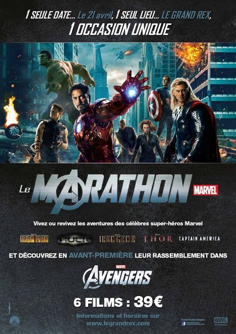film marvel a voir journ 233 e marvel allocin 233