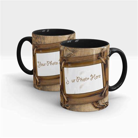 design your own mug black cheetah themed customized coffee mug design your own
